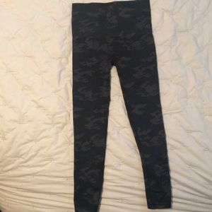 SPANX camo leggings